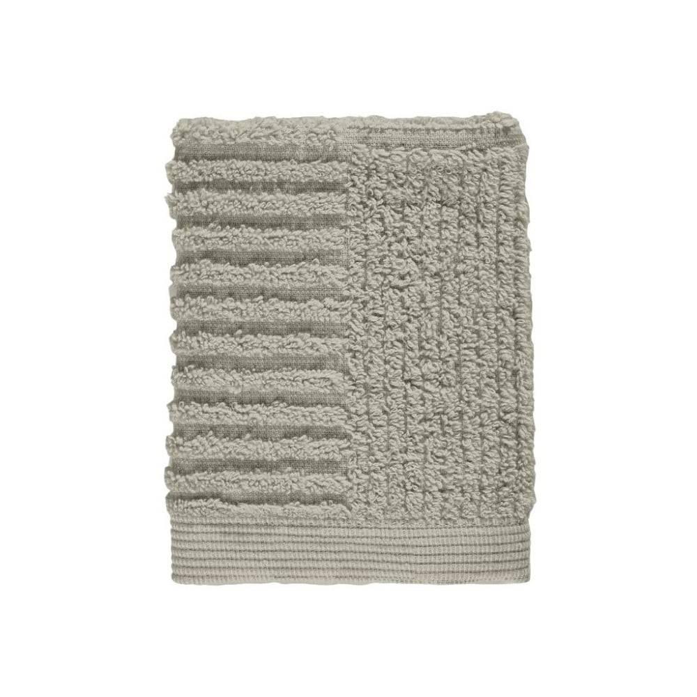 Zone Sivozelený sivý uterák zo 100% bavlny na tvár Zone Classic Eucalyptus, 30×30 cm