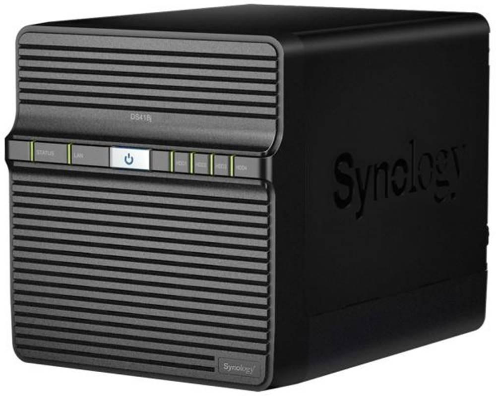 Synology Sieťové úložište Synology DS418j čierne