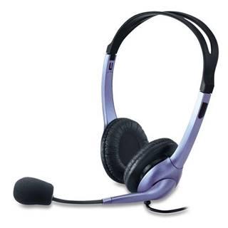 Headset  Genius HS-04S čierny/strieborný