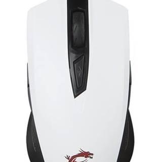 Myš  MSI Clutch GM40 biela