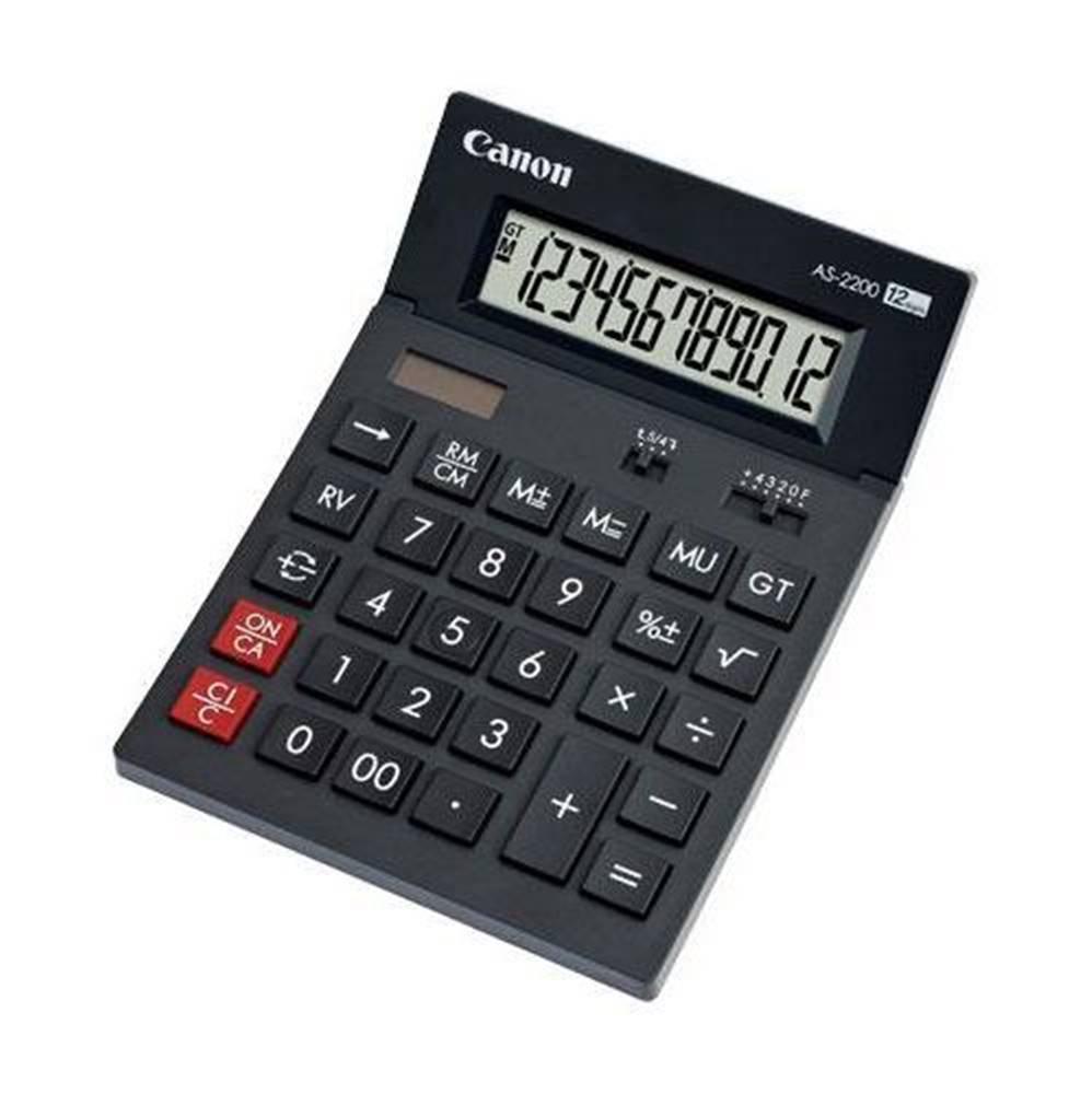 Canon Kalkulačka Canon AS-2200 sivá