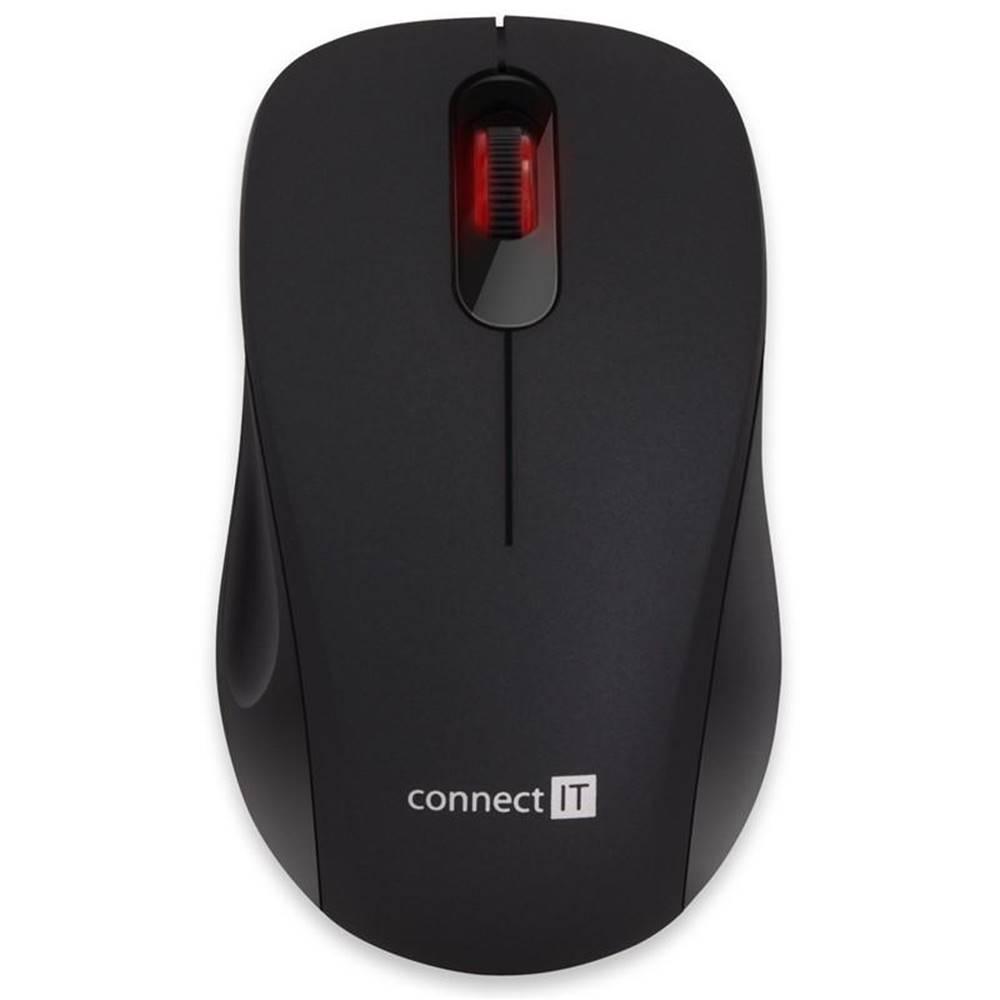 Connect IT Myš  Connect IT Mute čierna