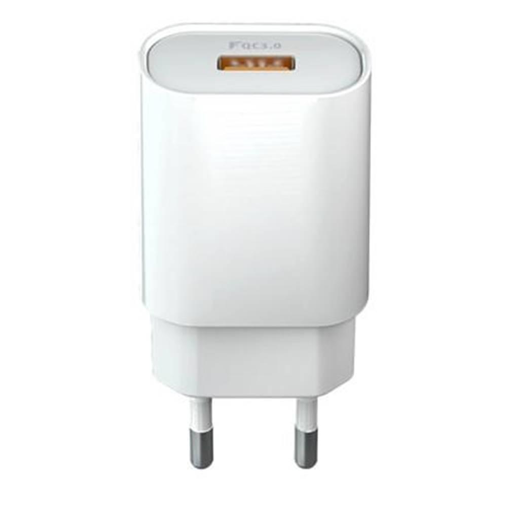 Forever Nabíjačka do siete Forever Core 1x USB QC 3.0, 18W biela
