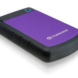 Externý pevný disk Transcend StoreJet 25H3P 2TB čierny/fialový