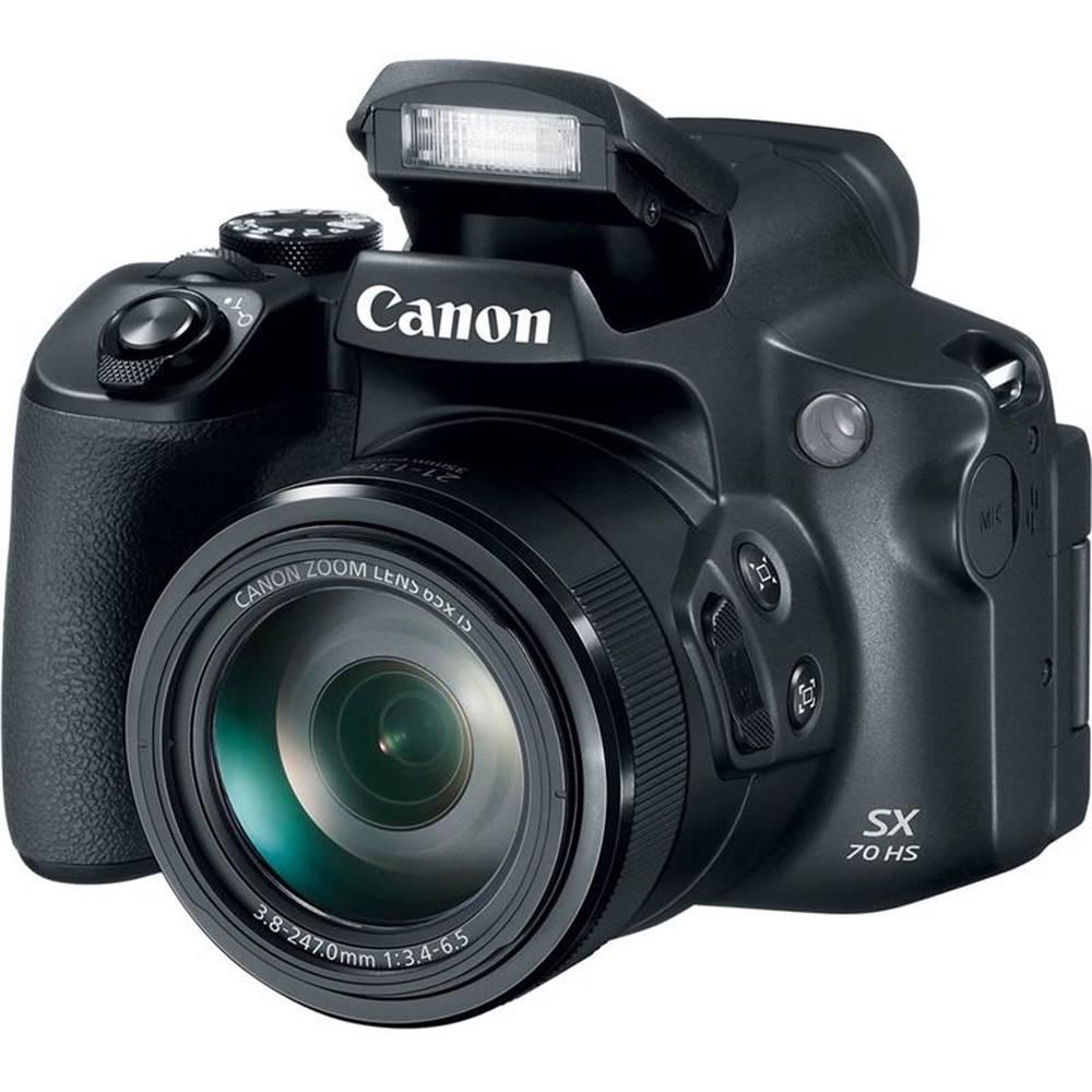 Canon Digitálny fotoaparát Canon PowerShot SX70 HS čierny