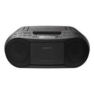 Rádioprijímač s CD Sony CFD-S70B čierny