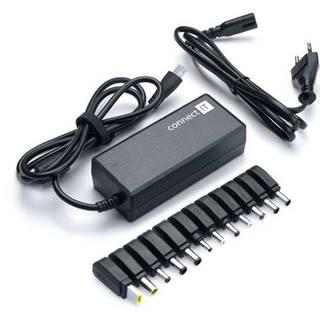 Sieťový adaptér Connect IT CI-132 univerzální pro notebooky, 70 W
