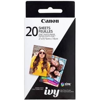 Fotopapier Canon ZP-2030, 50x76 mm, 20 ks, pro Zoemini