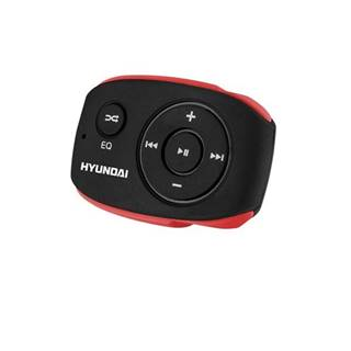 MP3 prehrávač Hyundai MP 312 GB8 BR čierny/červen
