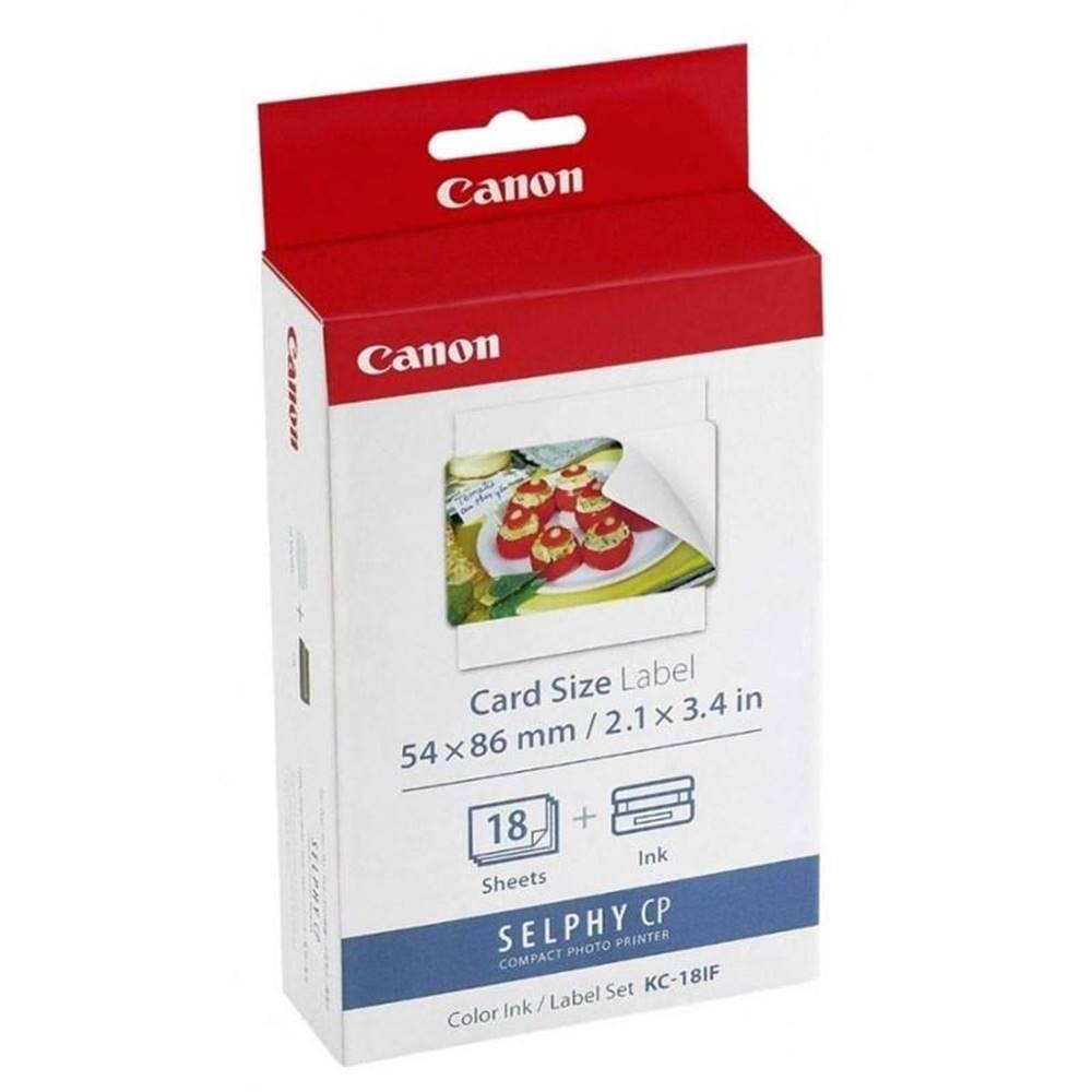 Canon Fotopapier Canon KC-18IF, 54x86 mm, 18 ks + inkoust pro Selphy