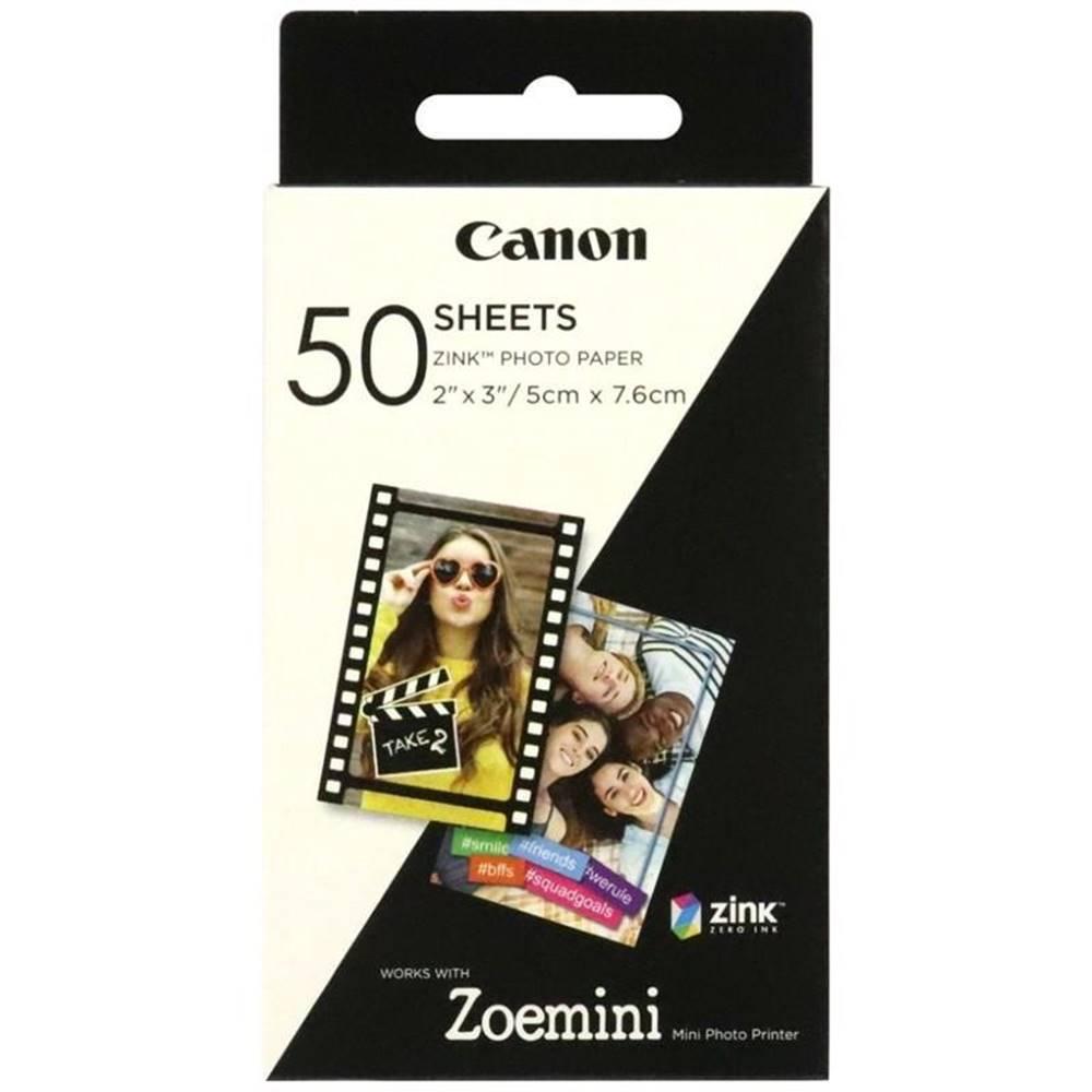 Canon Fotopapier Canon ZP-2030, 50x76 mm, 50 ks, pro Zoemini