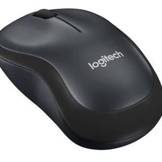 Myš  Logitech Wireless MoM220 Silent čierna / optická / 3