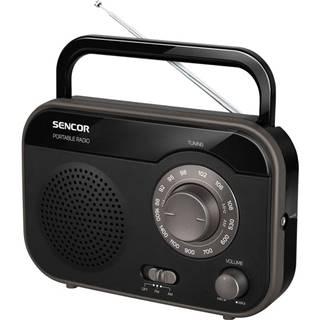 Rádioprijímač Sencor SRD 210 B čierny
