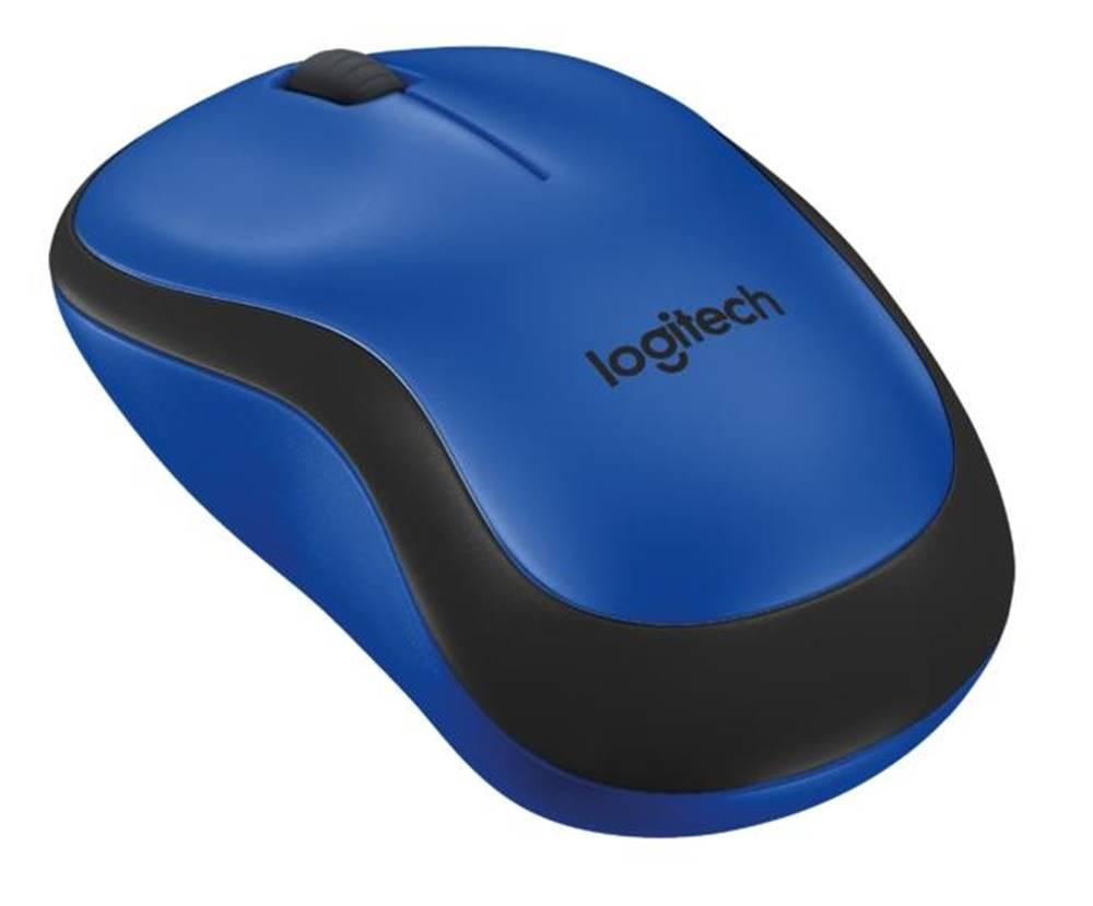 Logitech Myš  Logitech Wireless MoM220 Silent modrá / optická / 3