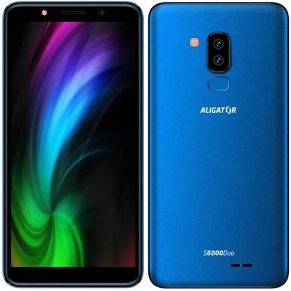 Aligator Mobilný telefón Aligator S6000 Dual SIM modrý