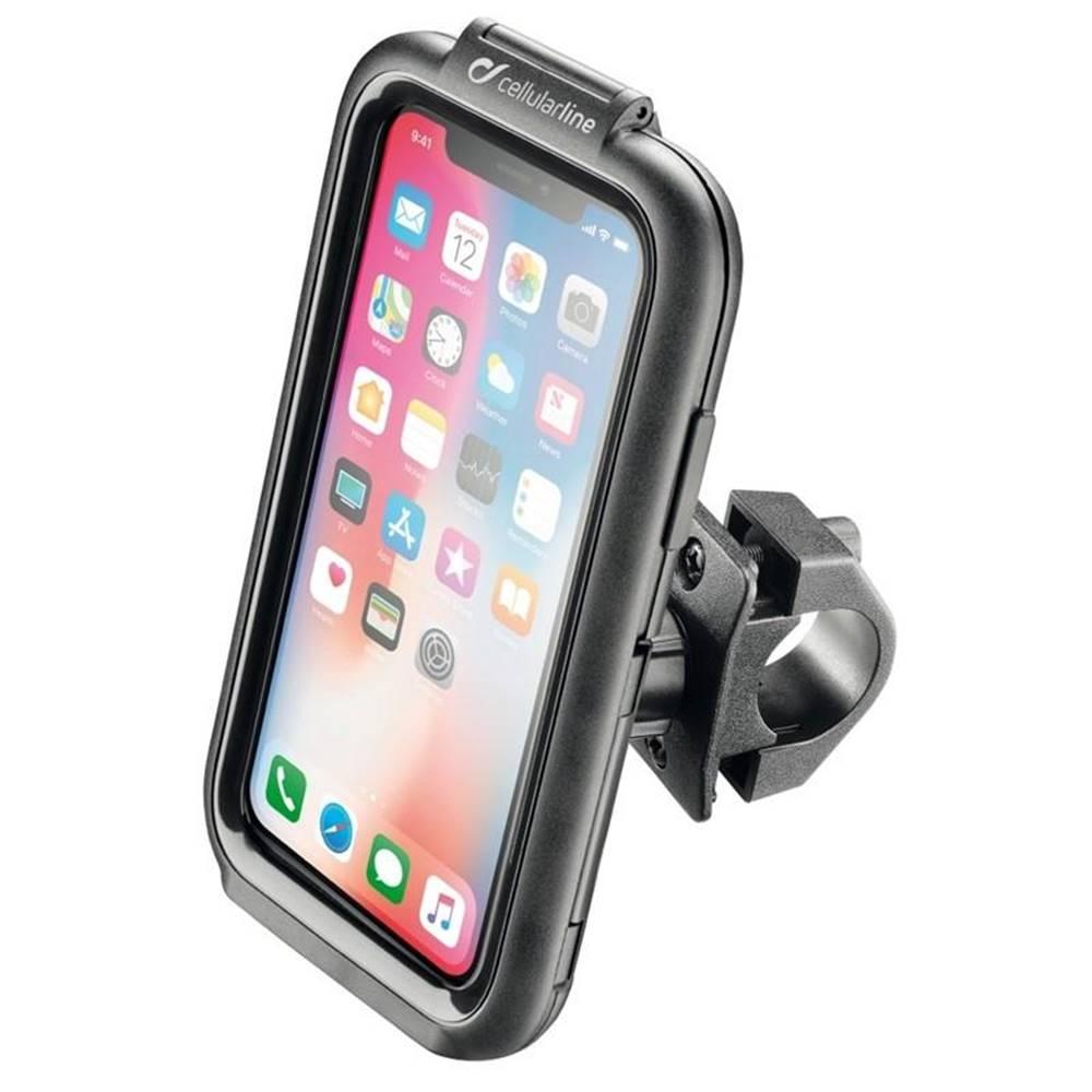 Interphone Držiak na mobil Interphone na Apple iPhone X/Xs, úchyt na řídítka,