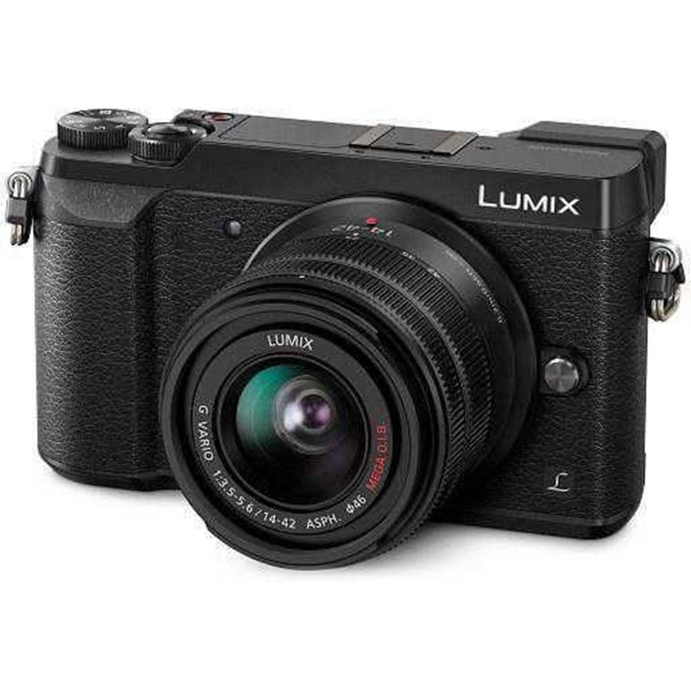 Panasonic Digitálny fotoaparát Panasonic Lumix DMC-GX80 + 14-42 čierny