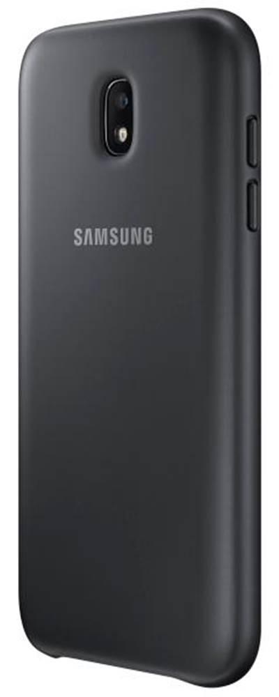 Samsung Kryt na mobil Samsung Dual Layer Cover na J7 2017 čierny