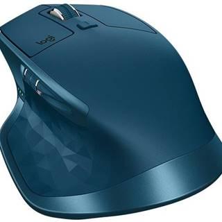 Myš  Logitech MX Master 2S modrá / Darkfield / 7 tlačítek / 4000dpi