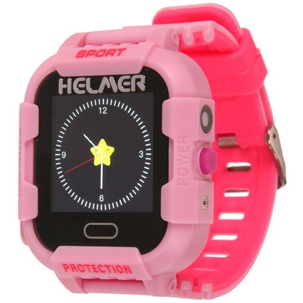Helmer Inteligentné hodinky Helmer LK 708 dětské s GPS lokátorem ružový