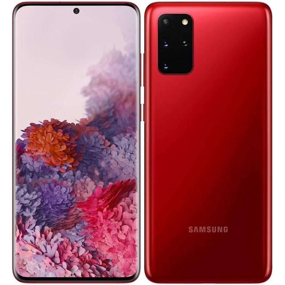 Samsung Mobilný telefón Samsung Galaxy S20+ červený