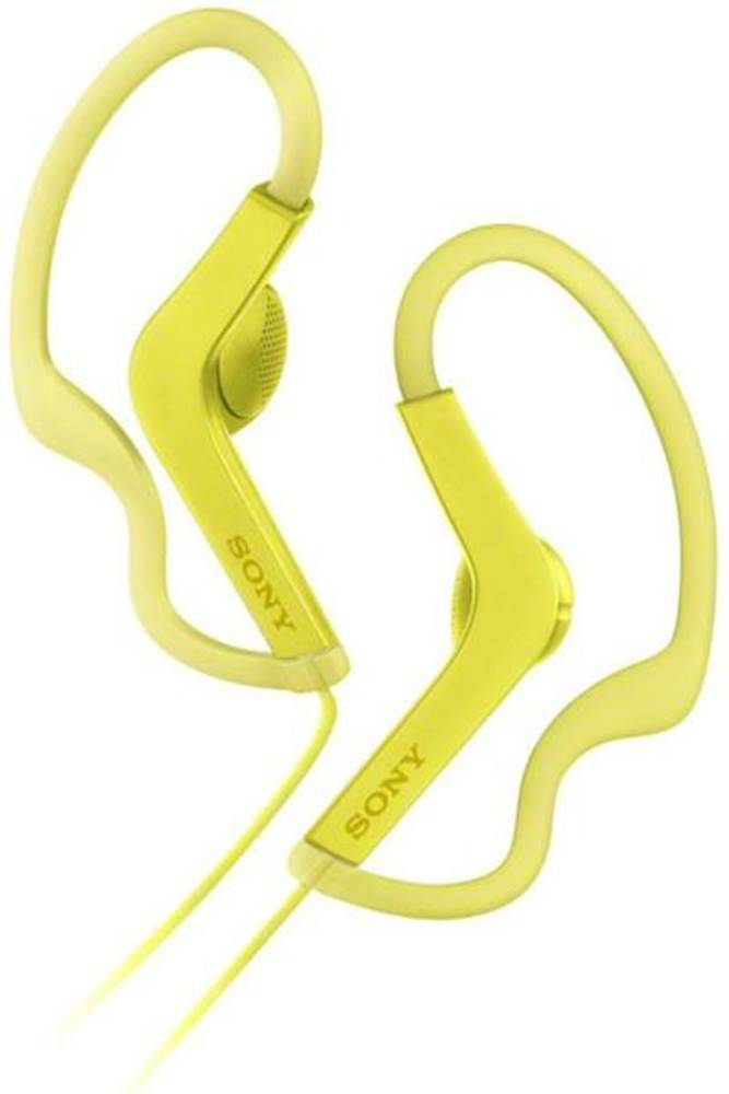 Sony Slúchadlá Sony MDR-AS210 žltá