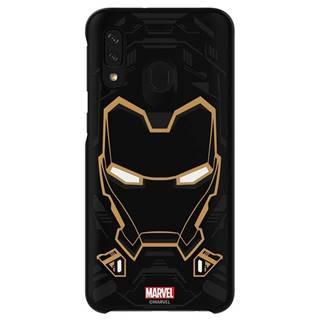 Kryt na mobil Samsung Smart Cover Iron Man na Galaxy A40 čierny