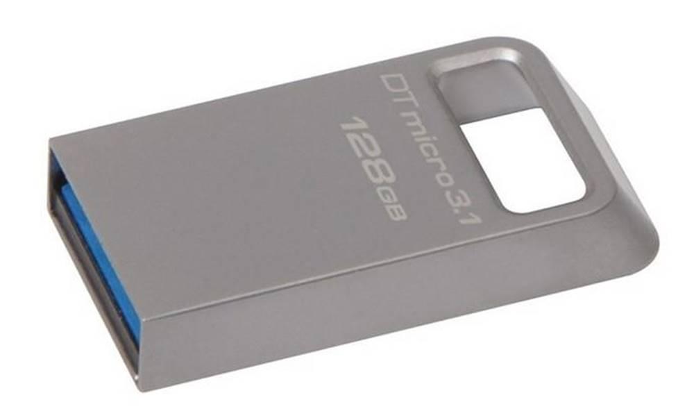 Kingston USB flash disk Kingston DataTraveler Micro 3.1 128GB kovový