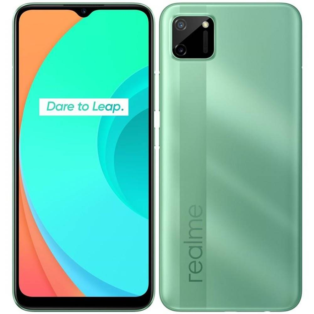 Realme Mobilný telefón Realme C11 zelený