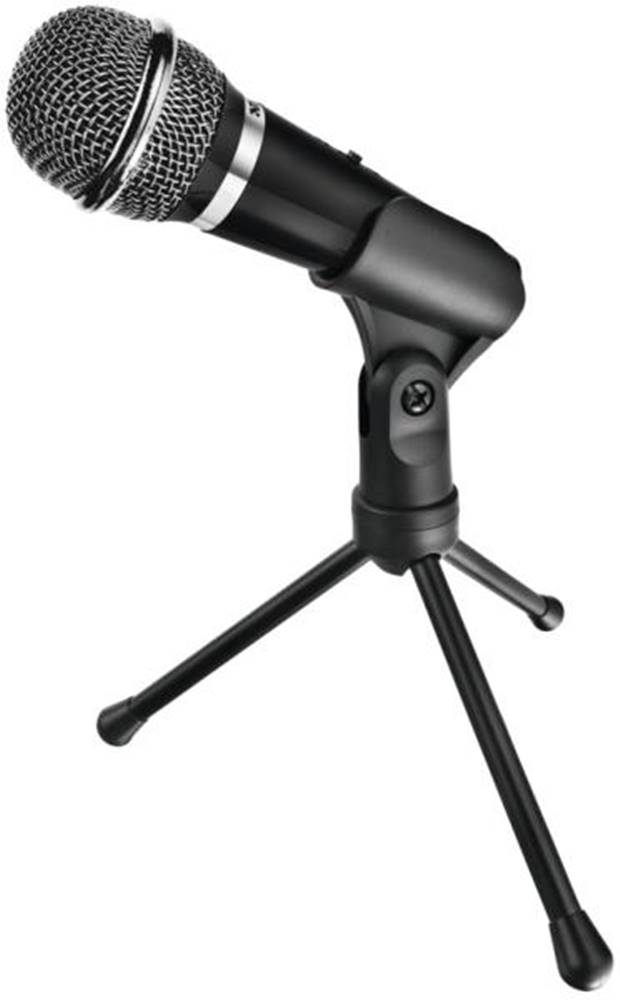 Trust Mikrofón Trust Starzz All-round čierny