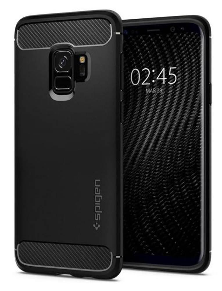Spigen Kryt na mobil Spigen Rugged Armor na Samsung Galaxy S9 čierny