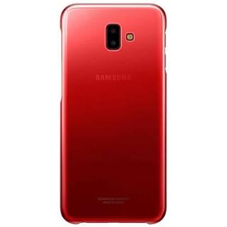 Kryt na mobil Samsung Gradation cover na J6+ červený