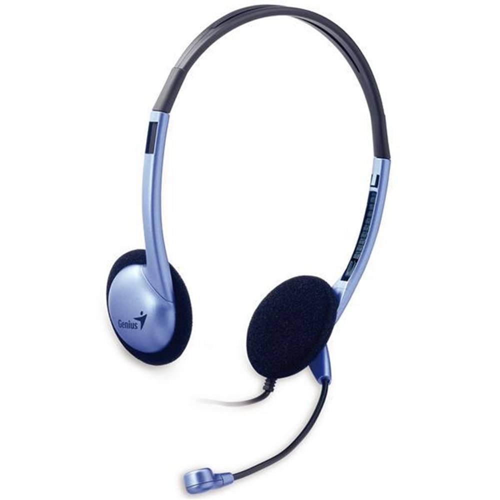 Genius Headset  Genius HS-02B strieborný