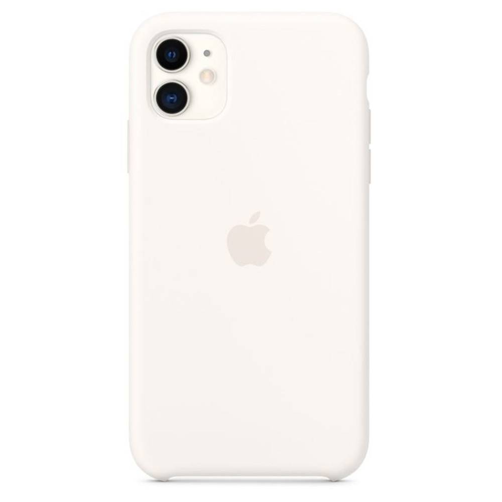 Apple Kryt na mobil Apple Silicone Case pro iPhone 11 biely