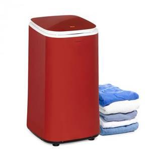Klarstein Zap Dry, sušička bielizne, 820 W, 50 l, dotykový ovládací panel, LED displej, červená