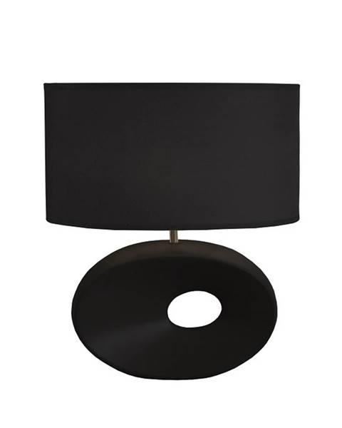 Čierna stolová lampa Tempo Kondela