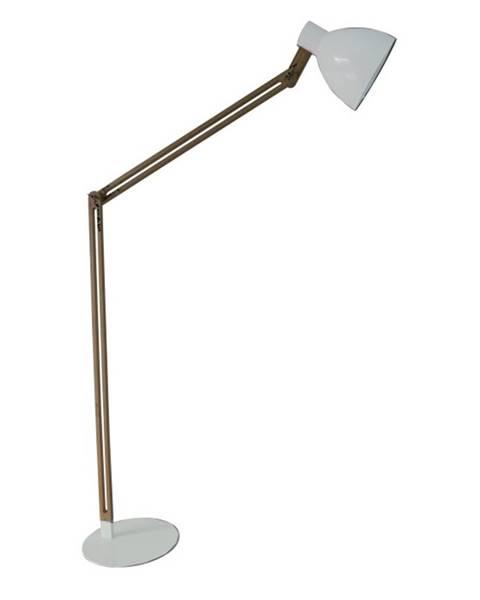 Biela stajaca lampa Tempo Kondela