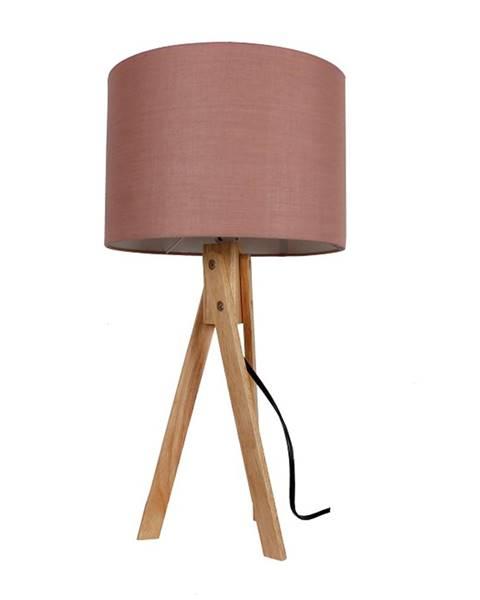 Hnedá stolová lampa Tempo Kondela