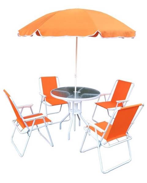 Oranžový nábytok Tempo Kondela