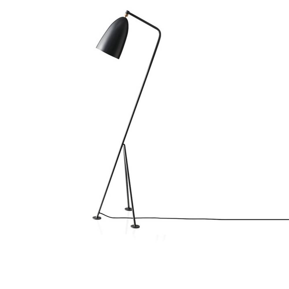 Tempo Kondela Stojacia lampa sivý kov CINDA TYP 25 YF6250-G