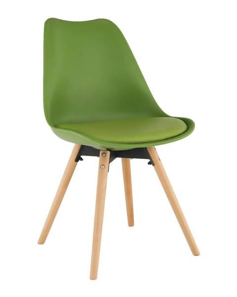 Zelená stolička Tempo Kondela