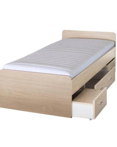 Javorová posteľ Tempo Kondela