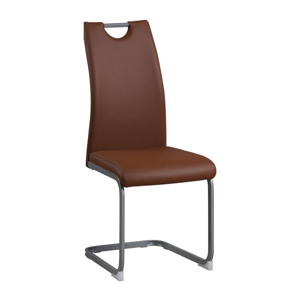 Tempo Kondela Jedálenská stolička hnedá DEKOMA