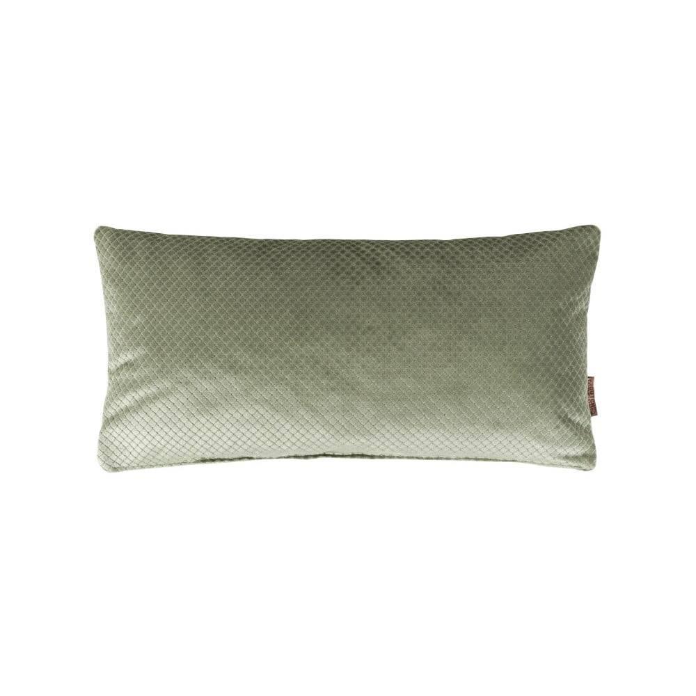 Dutchbone Zelený vankúš Dutchbone Spencer, 60×30 cm
