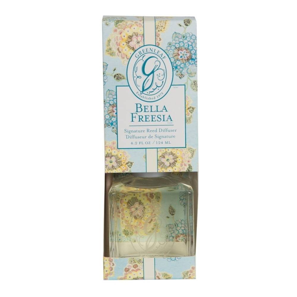 Greenleaf Difuzér s vôňou frézie Greenleaf Signature Bella Freesia, 124 ml