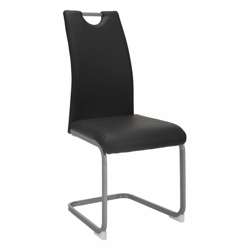 Tempo Kondela Jedálenská stolička tmavosivá DEKOMA rozbalený tovar