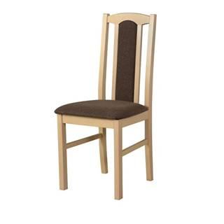 Jedálenská stolička BOLS 7 hnedá