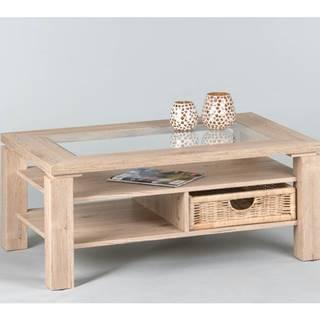 Konferenčný stolík LAZY A4 dub sanremo