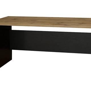 Písací stôl BÁRA SC 208 dub wotan/čierna