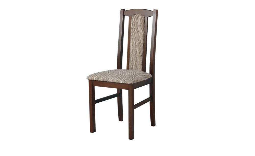 Sconto Jedálenská stolička BOLS 7 tmavohnedá